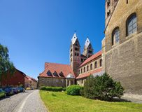 Halberstadt Liebfrauenchurch Stock Photos