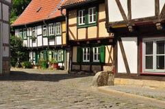 Halberstadt Sachsen Anhalt, Tyskland Royaltyfri Bild