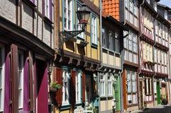 Halberstadt Sachsen Anhalt, Tyskland Royaltyfri Fotografi