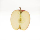 Halbes Apple Lizenzfreies Stockfoto