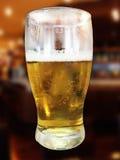 Halbes Liter ein Bier Stockfoto