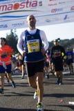 Halbes maraton 41 Roms-Ostia Lizenzfreie Stockfotos