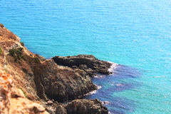 Halbinsel Kap Fiolent Krim lizenzfreies stockbild