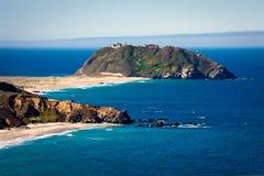 Halbinselinsel Stockfoto