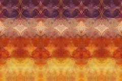 Halbkreis formt Impressionismusmuster Lizenzfreie Stockbilder