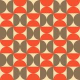 Halbkreis-Muster Stockfotos