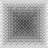 Halbton gezeichneter Hintergrund Halbtoneffektvektormuster differ Lizenzfreie Stockfotografie