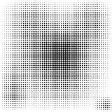 Halbton punktiert HintergrundSchwarzweiss-stilvolles Lizenzfreie Stockfotos
