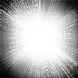 Halbton punktierte Sonnendurchbruch-Beschaffenheit stock abbildung