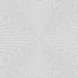 Halbton punktierter Hintergrund gleichmäßig verteilt Halbtoneffekt Stockfoto