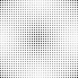 Halbton punktierter Hintergrund Halbtoneffektvektormuster Lizenzfreies Stockbild