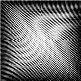 Halbton punktierter Hintergrund Halbtoneffektvektormuster Circ Stockfotos