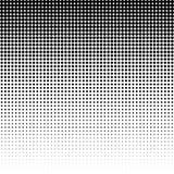 Halbton punktierter Hintergrund Halbtoneffektvektormuster Circ Lizenzfreie Stockbilder