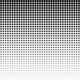 Halbton punktierter Hintergrund Halbtoneffektvektormuster Circ Stockbild