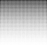 Halbton punktierter Hintergrund Halbtoneffektvektormuster Circ Stockbilder