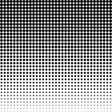 Halbton punktierter Hintergrund Halbtoneffektvektormuster Circ Stockfoto