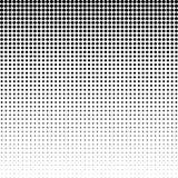 Halbton punktierter Hintergrund Halbtoneffektvektormuster Circ Stockfotografie