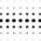 Halbton punktierter Hintergrund Halbtoneffektvektormuster Circ Lizenzfreies Stockbild