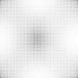 Halbton punktierter Hintergrund Halbtoneffektvektormuster Kreispunkte auf dem weißen Hintergrund Stockfotos