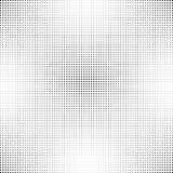 Halbton punktierter Hintergrund Halbtoneffektvektormuster Kreispunkte auf weißem Hintergrund Lizenzfreie Stockfotografie