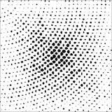 Halbton punktierter Hintergrund Halbtoneffektvektormuster Kreispunkte lokalisiert auf dem weißen Hintergrund Lizenzfreie Stockfotos