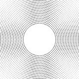 Halbton punktierter Hintergrund Kreis- verteilt Halbton-effe Lizenzfreie Stockbilder