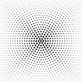 Halbton punktierter Hintergrund Kreis- verteilt Halbton-effe Stockfoto