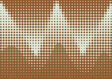 Halbtonbild punktiert Hintergrund Stockbilder
