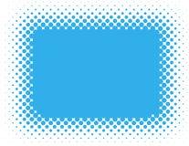 Halbtonhintergrund - Blau Stockfoto