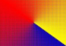 Halbtonhintergrund geometrisches dekoratives minimales papper punktiert Stockfoto