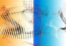 Halbtonhintergrund geometrisches dekoratives minimales papper punktiert Lizenzfreie Stockbilder