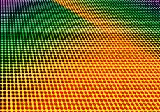 Halbtonhintergrund geometrisches dekoratives minimales papper punktiert Stockbild