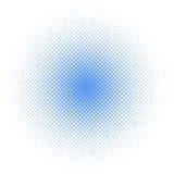 Halbtonkreis /dots stock abbildung