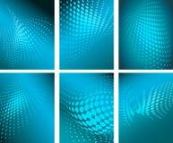 Halbtonmusterhintergrundillustration vektor abbildung