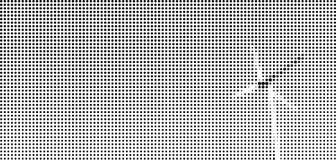 Halbtonpunktgraphik der Windmühle Stockbilder