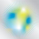 Halbtonspritzen vektor abbildung