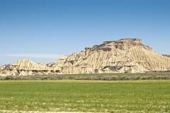 Halbwüsten- Landschaft Stockfotos