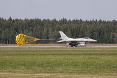 Halcón de la lucha F-16 Imagenes de archivo