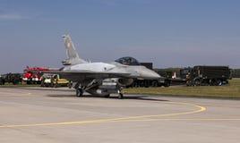Halcón de la lucha F-16 Fotografía de archivo libre de regalías