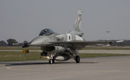 Halcón de la lucha F-16 Imágenes de archivo libres de regalías