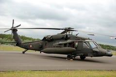 Halcón del negro de los E.E.U.U. UH-60 Imagen de archivo