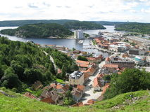 Halden, Noruega Imagenes de archivo