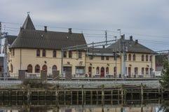 Halden-Station Lizenzfreie Stockfotografie