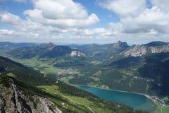 Haldensee - Österreich Stockfotos