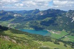Haldensee - Österreich Stockbild