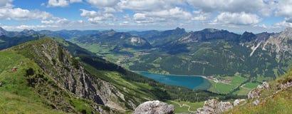 Haldensee - Österreich Stockfotografie