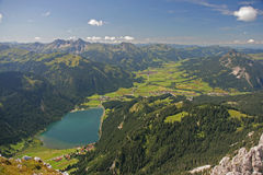 Haldensee – Tirol - Austria Stock Photo