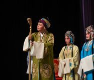"""Hale and hearty old lady- Beijing Opera"""" Women Generals of Yang Family"""" Stock Photo"""