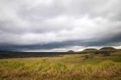 HaleakalÄ 国立公园-美好和不同的生态系 库存照片