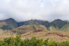 HaleakalÄ 国立公园-美好和不同的生态系 免版税库存照片